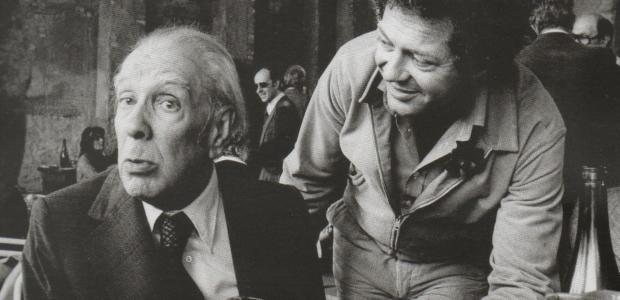 Jorge Luis Borges e Franco Maria Ricci
