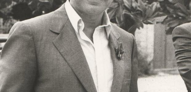 Franco Maria Ricci ritratto da Giovanni Ferraguti.